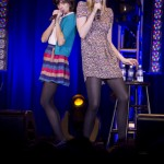 They are Garfunkel and Oates. Love them.
