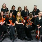 Hiland Mountain Correctional Center Women's String Orchestra, Photo by Joanna Knapp