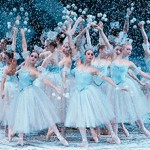Scene from Balanchine&#039;s The Nutcracker, photo culled from the New York City Ballet website.