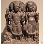Stele with Shiva and Parvati 1