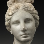 Head of Aphrodite (&quot;The Bartlett Head&quot; ), Greek, about 330300 B.C., Museum of Fine Arts, Boston