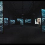 Isaac Julien, &quot;Ten Thousand Waves,&quot; 2010. Installation view, Bass Museum of Art, Miami. Nine-screen installation, 35mm film, transferred to high definition, 9.2 surround sound, 49 ft. x 41 in, Courtesy of the artist and Victoria Miro Gallery, London. Photography Peter Haroldt.