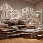 Diana Al-Hadid, Gradiva's Fourth Wall, 2011, polymer gypsum, wood, fiberglass, paint