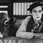 Buster Keaton; photo culled from the Kaufman Center website.