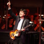 Tony Kishman, a Paul McCartney look-alike leads the LPO in a selection of McCartney and Beatles selections
