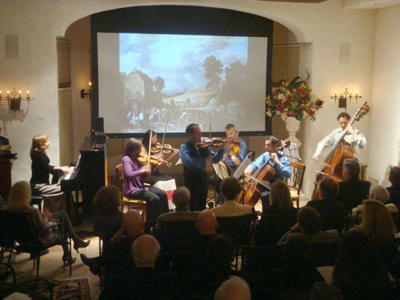 The National Chamber Ensemble performs live
