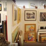According to the Arts Exclusive website, there are over seven hundred original works of art in the gallery