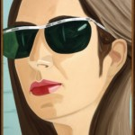 Alex Katz, Ada with Sunglasses, 1969, oil on canvas, Gift of Sidney and Rosalie Rose.