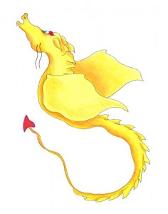 Yellow Singing Dragon