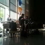 Daybreak Express in the DMA Atrium