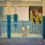 Mark Rothko, Entrance to Subway, 1938, oil on canvas, Copyright © 1998, Kate Rothko Prizel and Christopher Rothko