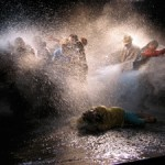 "Bill Viola's ""The Raft"" Examines Human Reactions to Disaster"