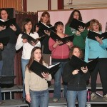Alaska Chamber Singers in Rehearsal. Photo by Gleo Huyck.