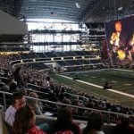Magic Flute at Cowboys Stadium