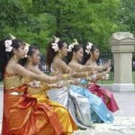 Lao-Thai Cultural Dancers