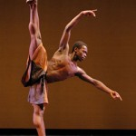 Prince Credell in Alonzo King's Before the Blues ~ photo by Marty Sohl
